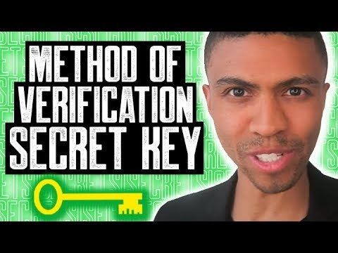 METHOD OF VERIFICATION SECRET KEY    BEYOND PAY FOR DELETION    GOOD CREDIT SCORE TO GET A GOOD LOAN