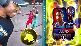 ULTIMATE MANUTE BOL With UNICORN X-FACTOR! 108 OVR NBA Live Mobile 20 Season 4 Ep. 82