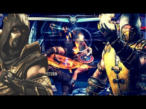 The All NEW Mortal Kombat Team! Injustice Gods Among Us 3.1! IOS/Android!