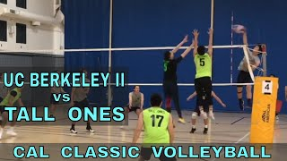 UC Berkeley II vs Tall Ones - Cal Classic Volleyball Tournament (11/10/18)