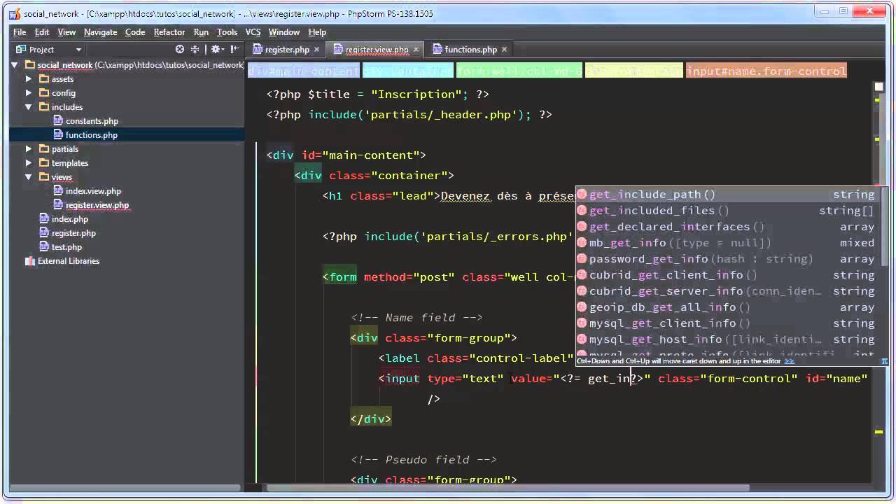 CR201ER UN R201SEAU SOCIAL POUR D201VELOPPEURS EN PHP 12