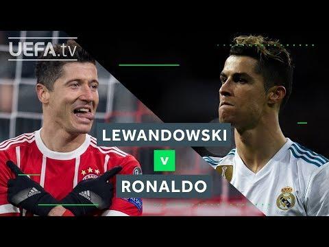 LEWANDOWSKI v RONALDO: Will Bayern or Madrid make it to Kyiv?