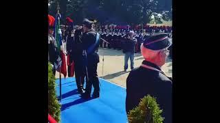 Tenente colonnello Antonio Russo cerimonia