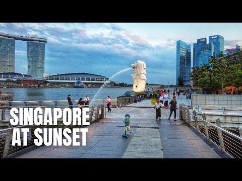Singapore City Tour at Sunset (2021)