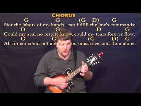 Mandolin mandolin tabs hymns : Rock of Ages (HYMN) Mandolin Cover Lesson in G with Chords/Lyrics ...