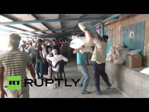 State of Palestine: UN steps up Gaza humanitarian aid programme