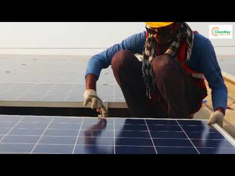 How to install a rooftop solar plant on a factory metal roof...