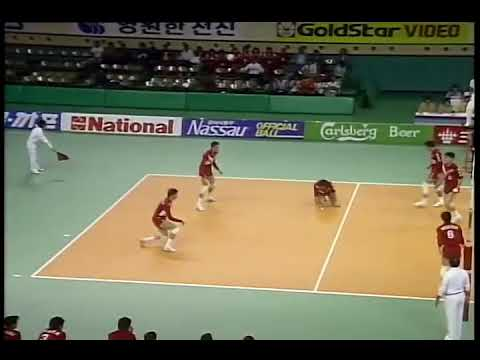 Cyril Valloor Kerala Spike - Volleyball - Seoul Asian Games 1986