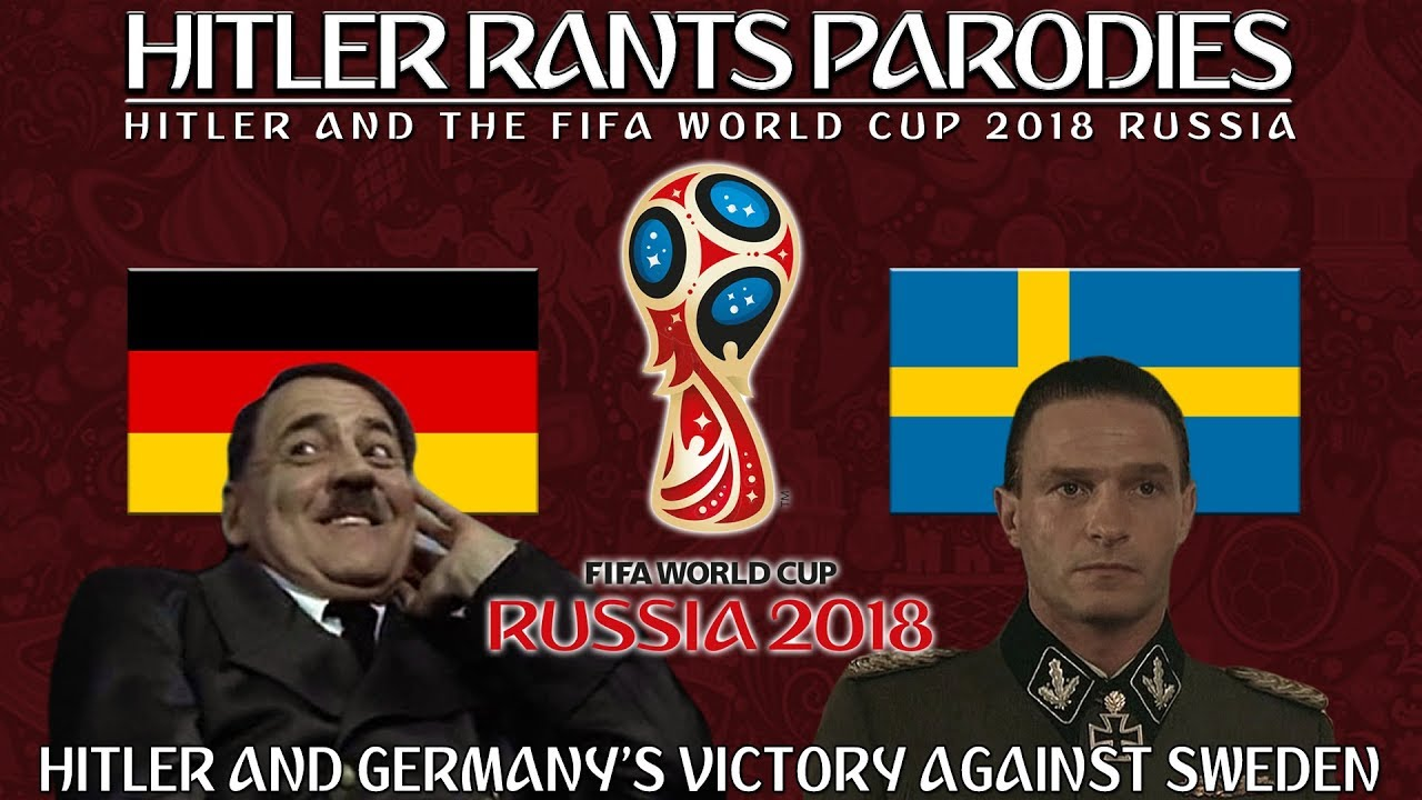 Hitler and Germany's victory over Sweden in the World Cup