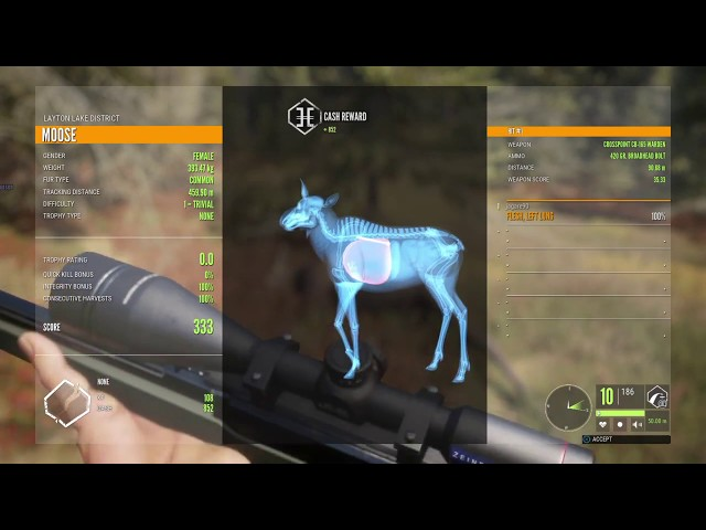 The new weapon pack 1 DLC  thehunter call of the wild ps4 gameplay