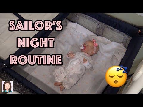 Reborn Baby Sailor's Night Routine