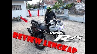 Video REVIEW LENGKAP YAMAHA R15 TERBARU ( GANTENG BRO ) download MP3, 3GP, MP4, WEBM, AVI, FLV November 2017