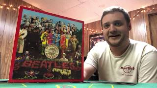 UNBOXING SGT. PEPPERS LONELY HEARTS CLUB BAND SUPER DELUXE EDITION 2017!