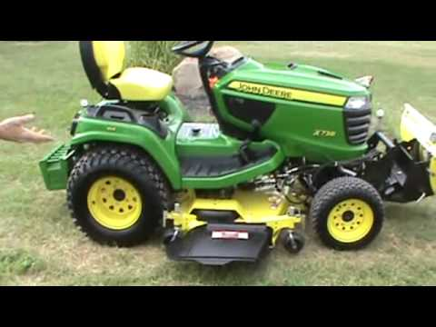 John Deere Lawn Mowers For Sale >> 2013 John Deere X738 Lawn And Garden Tractor With Snow Blade For Sale