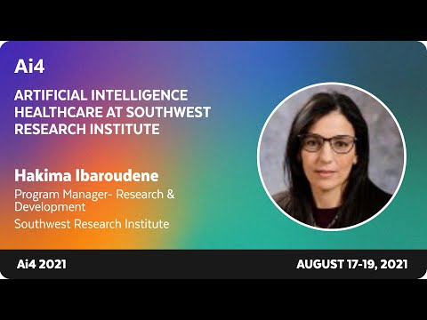 Artificial Intelligence Healthcare at Southwest Research Institute