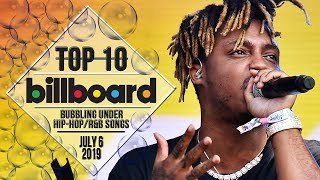 Top 10 • US Bubbling Under Hip-Hop/R&B Songs • July 6, 2019 | Billboard-Charts