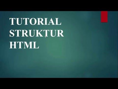 Struktur HTML Dan Cara Save Dokumen HTML