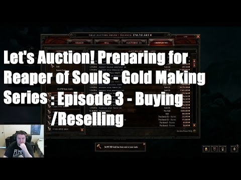 Let's Auction! Ep. 3: Preparing for RoS - Buying / Reselling