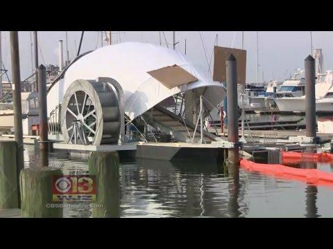 Baltimore Gets A Fourth Trash Wheel Next Year