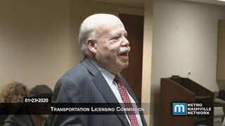 01/24/20 Transportation Licensing Commission Meeting