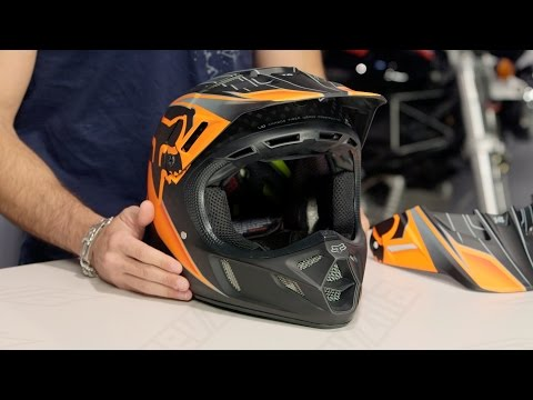 Fox Racing V4 Race Helmet Review at RevZilla.com