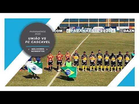 TV NEC: Gols União 2 x 3 FC Cascavel - Campeonato Paranaense