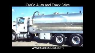 International 7500 350HP / Allison Automatic with 3,600 Gallon Stainless Steel Vacuum Septic Tank