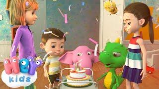 С Днем Рождения Тебя - Песни Для Детей(С Днем Рождения Тебя - самые красивые песни для детей, анимированные 3D на нашем канале. Смотри, учись, пой..., 2016-10-07T08:39:30.000Z)