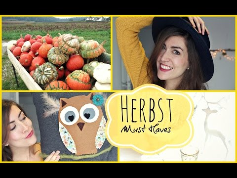 HERBST Must Haves 2018 ❤ Fashion, Make-Up, Essen
