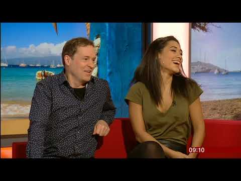 Death in Paradise Josephine Jobert & Ardal O'Hanlon interview 9/01/2019