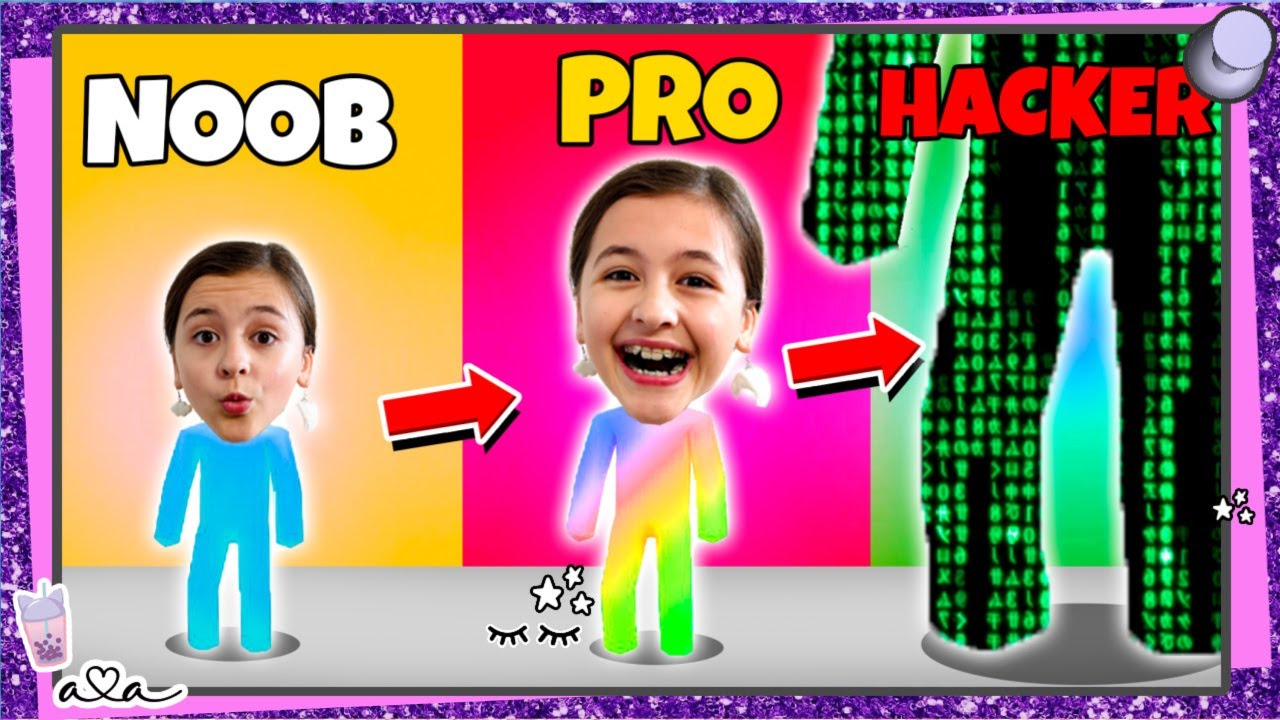 Download Noob vs. Pro vs. Hacker in Giant Rush 😱 Wird Ava zum Riesen oder Zwerg?! 💜 Alles Ava Gaming