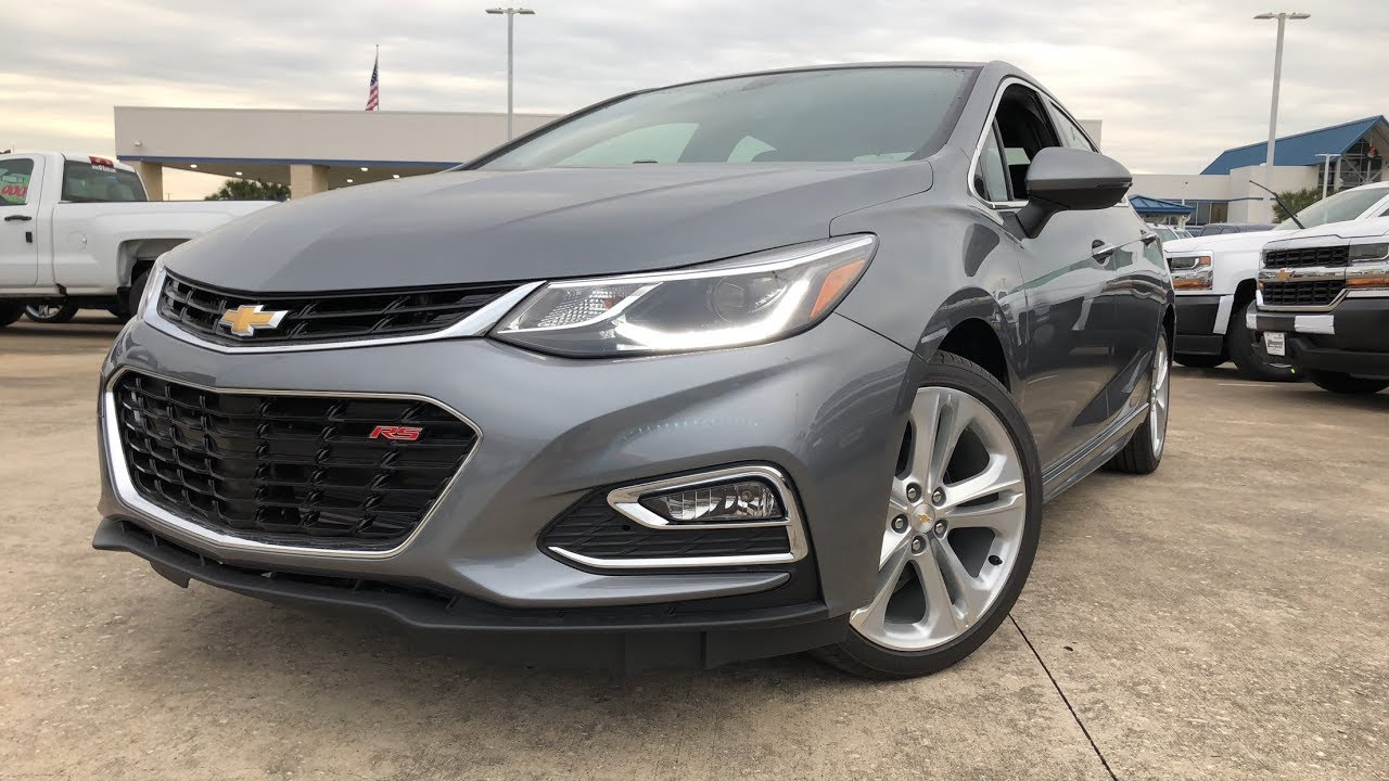 2018 chevrolet cruze premier rs 1 4l turbo review youtube