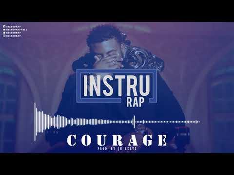 [FREE] Instru Rap Type Damso | Trap/Lourd Instrumental Rap - COURAGE - Prod. By JH BEATZ