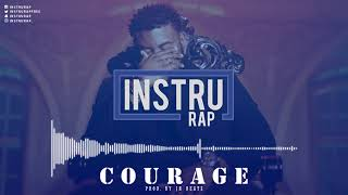 [FREE] Instru Rap Type Damso | Trap/Lourd Instrumental Rap - COURAGE - Prod. by JH BEATZ