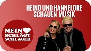 Heino und Hannelore schauen Musik