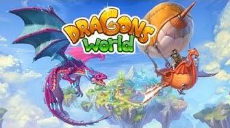 Dragons World: Cool Dragon Raising Game