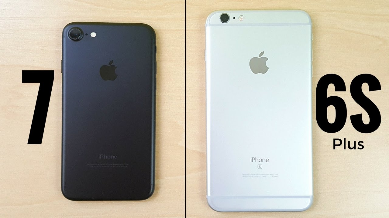 Should I buy iPhone 7 or iPhone 6S plus? - YouTube