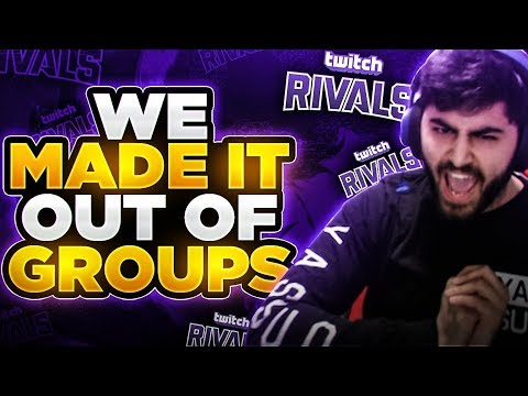 Yassuo   WE MADE IT OUT OF GROUPS!!! TYLER YOU'RE NEXT! (Twitch Rivals Day 2)