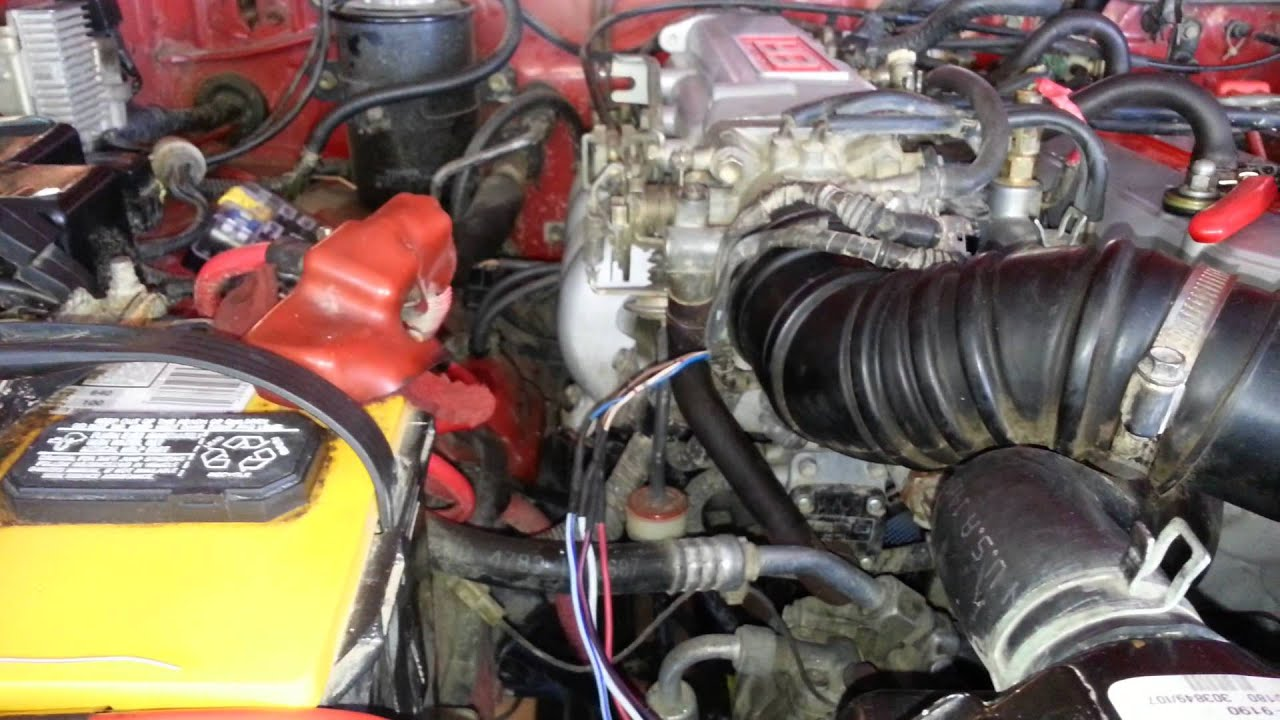 New Tps Connector In 87 4runner 22re Part 1 Youtube
