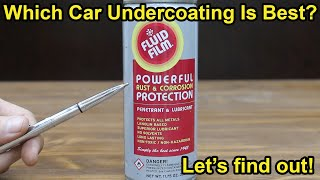 Which Car Undercoating Is Best?  Let's find out! Is Flex Seal the Best Rust & Salt Protection?