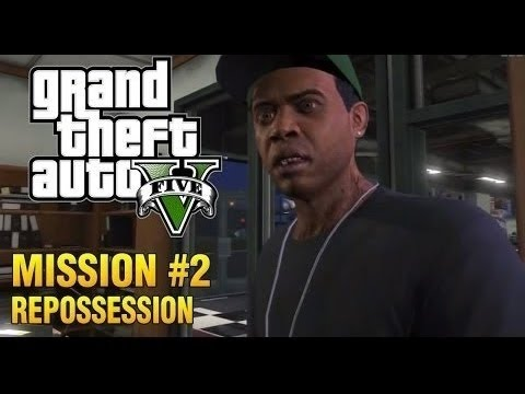 Grand Theft Auto 5 Gameplay Walkthrough Part 2 - Repossession