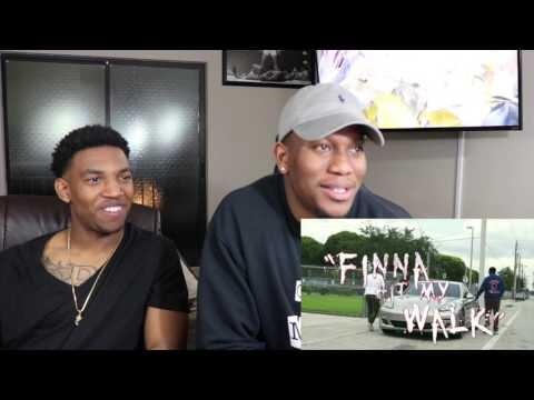 Yung Gordon FT. DJ T TIME- Finna Hit My Walk- REACTION (EXCLUSIVE)