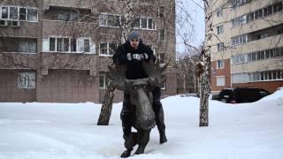 Новосибирск  Зверьё и сытный памятник(, 2015-02-01T04:14:41.000Z)