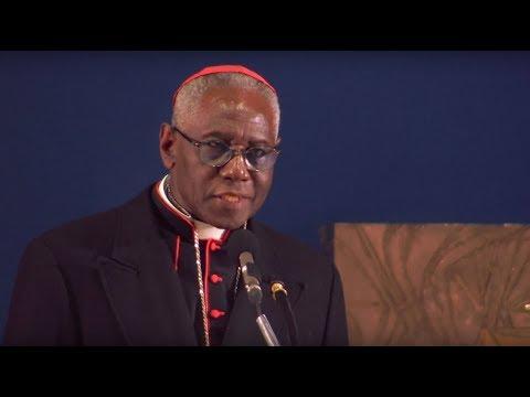 Conférence du Cardinal Robert Sarah « Dieu ou rien » à Bruxelles