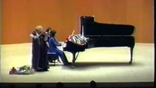 Sibelius- Mazurka Op.81-1: Dora Schwarzberg (violin), Nanako Pohl (piano)