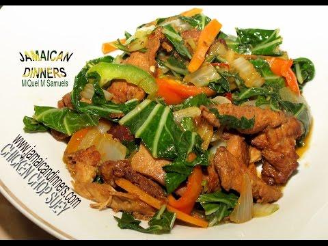 CHICKEN CHOP SUEY: Asian Recipe
