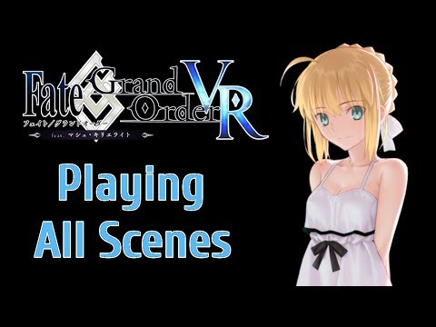 Fate/Grand Order VR - My Date with Saber!