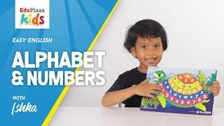 ALPHABET & NUMBERS |  | Easy English | English for Kids