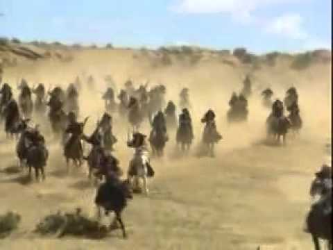 Чингизхан и Джелаладдин Мангуберди