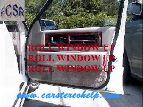 Cadillac Fleetwood and Deville Bose Speaker Removal - YouTube on bose home speaker replacement sizes, bose model 141 speaker replacement, bose interaudio speaker replacement, bose car speakers,